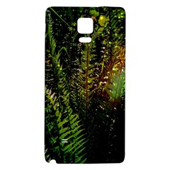 Green Leaves Psychedelic Paint Galaxy Note 4 Back Case