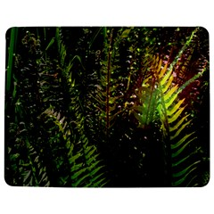 Green Leaves Psychedelic Paint Jigsaw Puzzle Photo Stand (Rectangular)