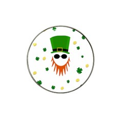 St. Patrick s day Hat Clip Ball Marker (4 pack)