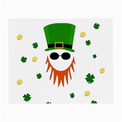 St. Patrick s day Small Glasses Cloth (2-Side)