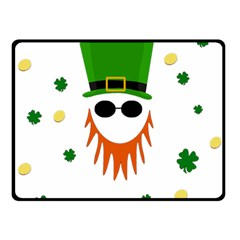 St. Patrick s day Fleece Blanket (Small)