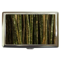 Green And Brown Bamboo Trees Cigarette Money Cases