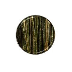 Green And Brown Bamboo Trees Hat Clip Ball Marker (4 Pack)