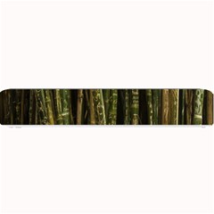 Green And Brown Bamboo Trees Small Bar Mats
