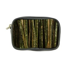 Green And Brown Bamboo Trees Coin Purse