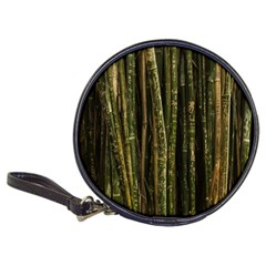 Green And Brown Bamboo Trees Classic 20-CD Wallets