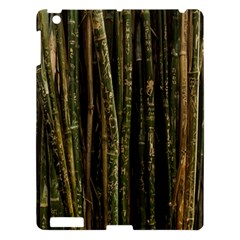 Green And Brown Bamboo Trees Apple iPad 3/4 Hardshell Case