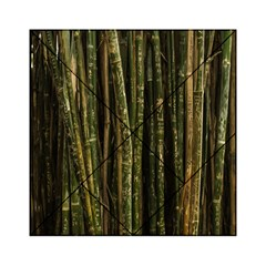 Green And Brown Bamboo Trees Acrylic Tangram Puzzle (6  X 6 )