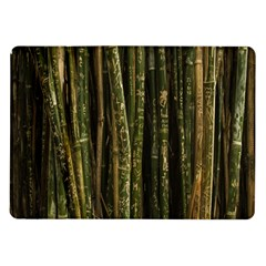 Green And Brown Bamboo Trees Samsung Galaxy Tab 10.1  P7500 Flip Case