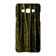 Green And Brown Bamboo Trees Samsung Galaxy A5 Hardshell Case