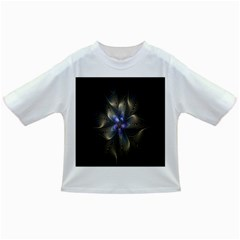 Fractal Blue Abstract Fractal Art Infant/toddler T Shirts