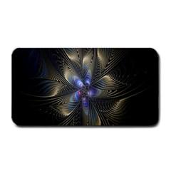 Fractal Blue Abstract Fractal Art Medium Bar Mats