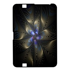 Fractal Blue Abstract Fractal Art Kindle Fire HD 8.9