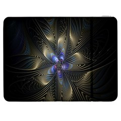 Fractal Blue Abstract Fractal Art Samsung Galaxy Tab 7  P1000 Flip Case