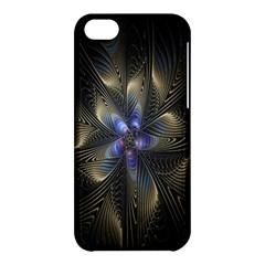 Fractal Blue Abstract Fractal Art Apple iPhone 5C Hardshell Case