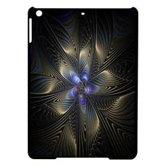 Fractal Blue Abstract Fractal Art Ipad Air Hardshell Cases