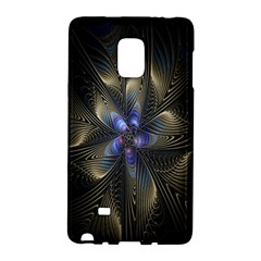 Fractal Blue Abstract Fractal Art Galaxy Note Edge