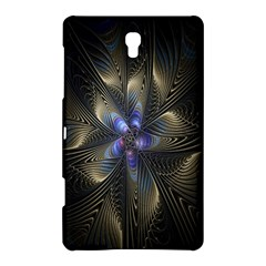 Fractal Blue Abstract Fractal Art Samsung Galaxy Tab S (8 4 ) Hardshell Case