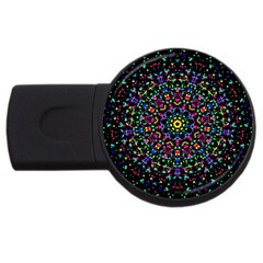 Fractal Texture USB Flash Drive Round (2 GB)