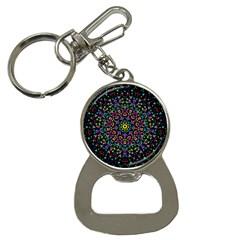 Fractal Texture Button Necklaces