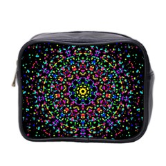 Fractal Texture Mini Toiletries Bag 2-Side