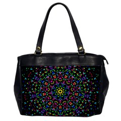 Fractal Texture Office Handbags