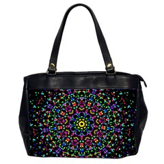 Fractal Texture Office Handbags (2 Sides)