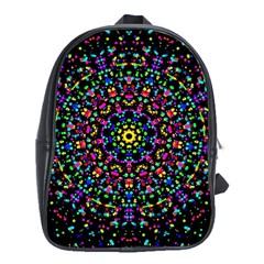Fractal Texture School Bags (XL)