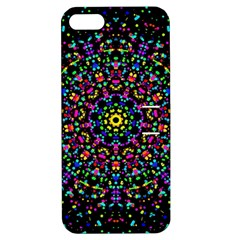 Fractal Texture Apple iPhone 5 Hardshell Case with Stand