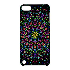 Fractal Texture Apple iPod Touch 5 Hardshell Case with Stand