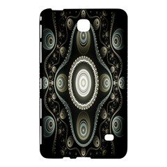 Fractal Beige Blue Abstract Samsung Galaxy Tab 4 (8 ) Hardshell Case