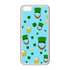 St  Patrick s Day Pattern Apple Iphone 5c Seamless Case (white)