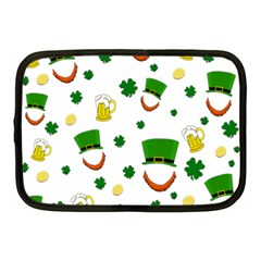 St. Patrick s day pattern Netbook Case (Medium)