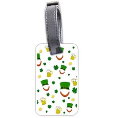 St. Patrick s day pattern Luggage Tags (One Side)