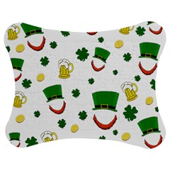 St. Patrick s day pattern Jigsaw Puzzle Photo Stand (Bow)