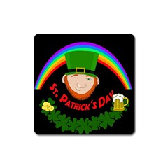 St. Patrick s day Square Magnet