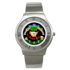St. Patrick s day Stainless Steel Watch