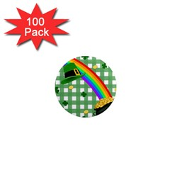 St. Patrick s day rainbow 1  Mini Magnets (100 pack)