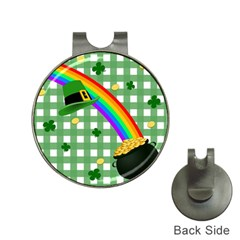 St. Patrick s day rainbow Hat Clips with Golf Markers