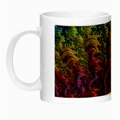 Fractal Art Design Colorful Night Luminous Mugs