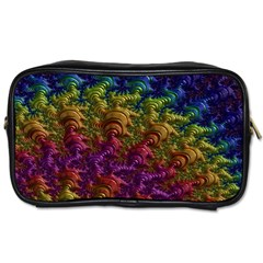 Fractal Art Design Colorful Toiletries Bags