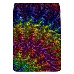 Fractal Art Design Colorful Flap Covers (L)