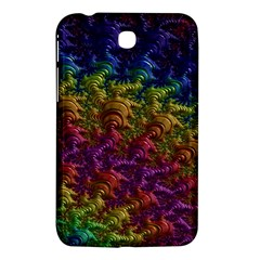 Fractal Art Design Colorful Samsung Galaxy Tab 3 (7 ) P3200 Hardshell Case