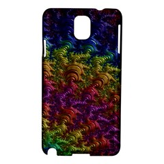 Fractal Art Design Colorful Samsung Galaxy Note 3 N9005 Hardshell Case