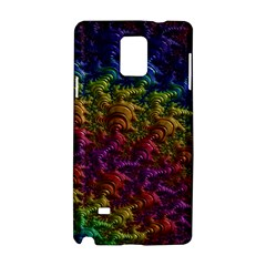 Fractal Art Design Colorful Samsung Galaxy Note 4 Hardshell Case