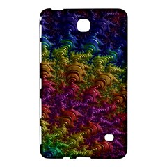 Fractal Art Design Colorful Samsung Galaxy Tab 4 (7 ) Hardshell Case