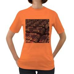 Fractal 3d Render Futuristic Women s Dark T-Shirt