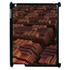 Fractal 3d Render Futuristic Apple iPad 2 Case (Black)