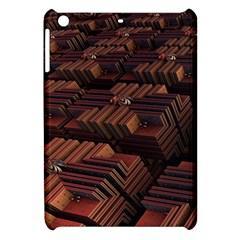 Fractal 3d Render Futuristic Apple iPad Mini Hardshell Case
