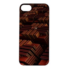 Fractal 3d Render Futuristic Apple iPhone 5S/ SE Hardshell Case